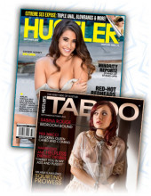 Subscription to Hustler and Taboo