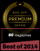 Best of Blair from 2014; 60 magazines 80% OFF