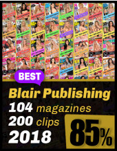 Best of Blair from 2018; 104 magazines 85% OFF
