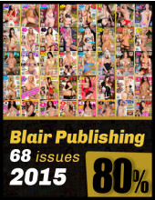 Best of Blair from 2015; 68 magazines 80% OFF