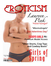 Eroticism Magazine; Girls of Spring 2019