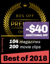 Best of Blair from 2018; 104 magazines 80% OFF