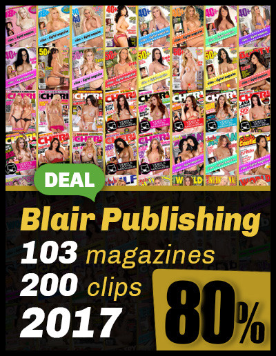 Best of Blair from 2017; 103 magazines 80% OFF