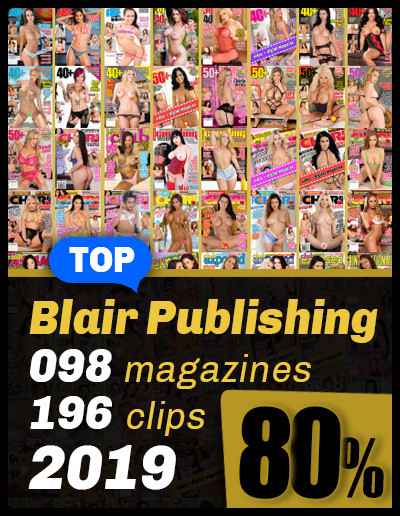 Best of Blair from 2019; 98 magazines 80% OFF