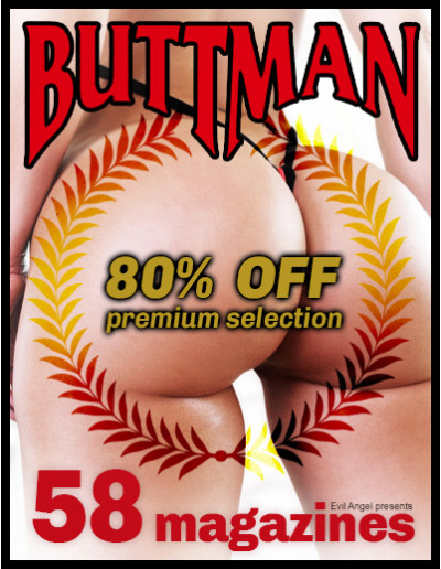 Buttman 80% off; All Buttman magazines