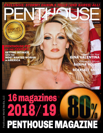 Penthouse Magazine; from 2018-2019